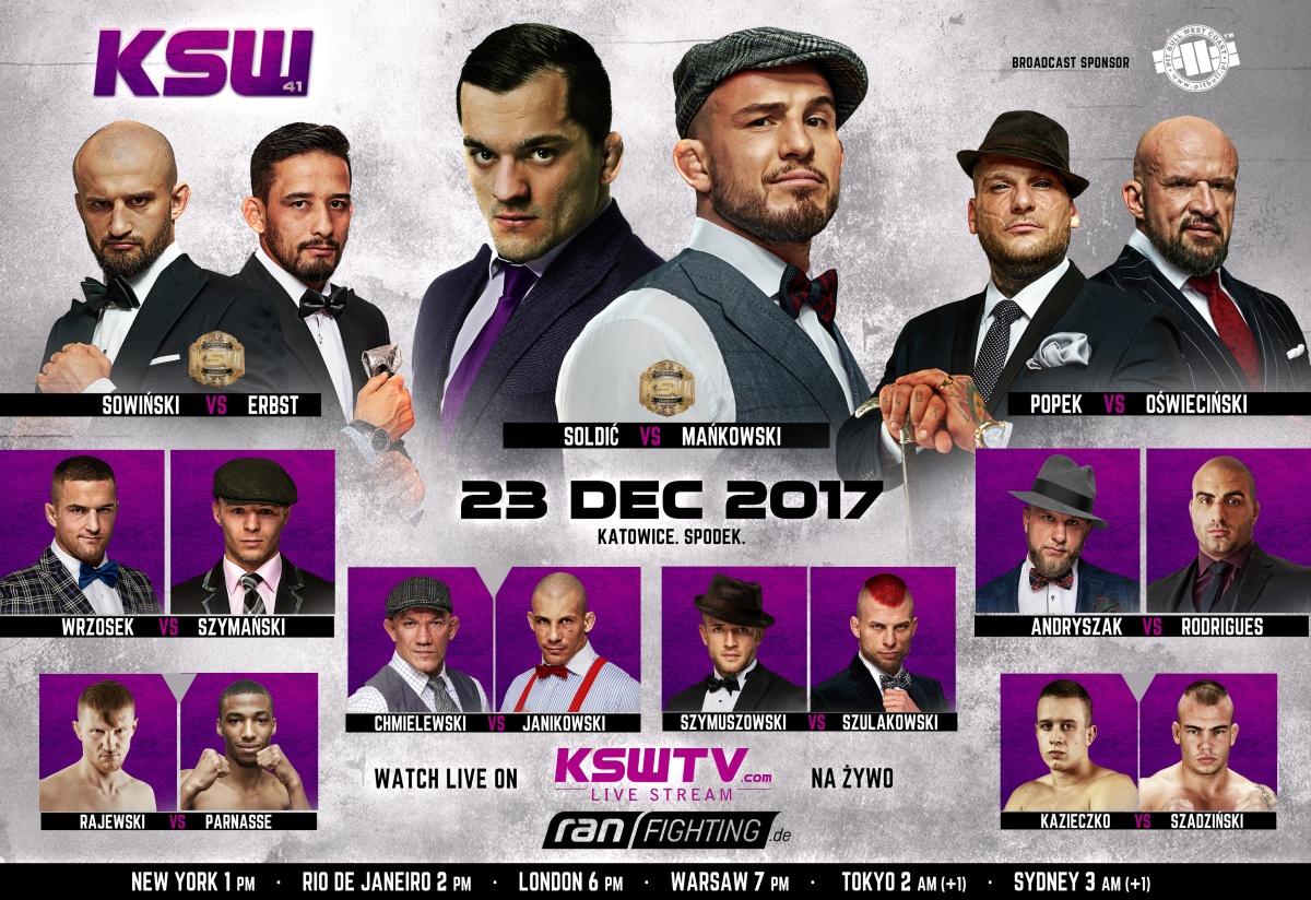 ran FIGHTING präsentiert zum ersten Mal KSW aus Polen