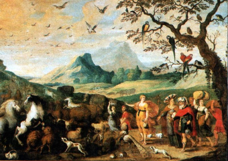 Noahs Einzug in die Arche