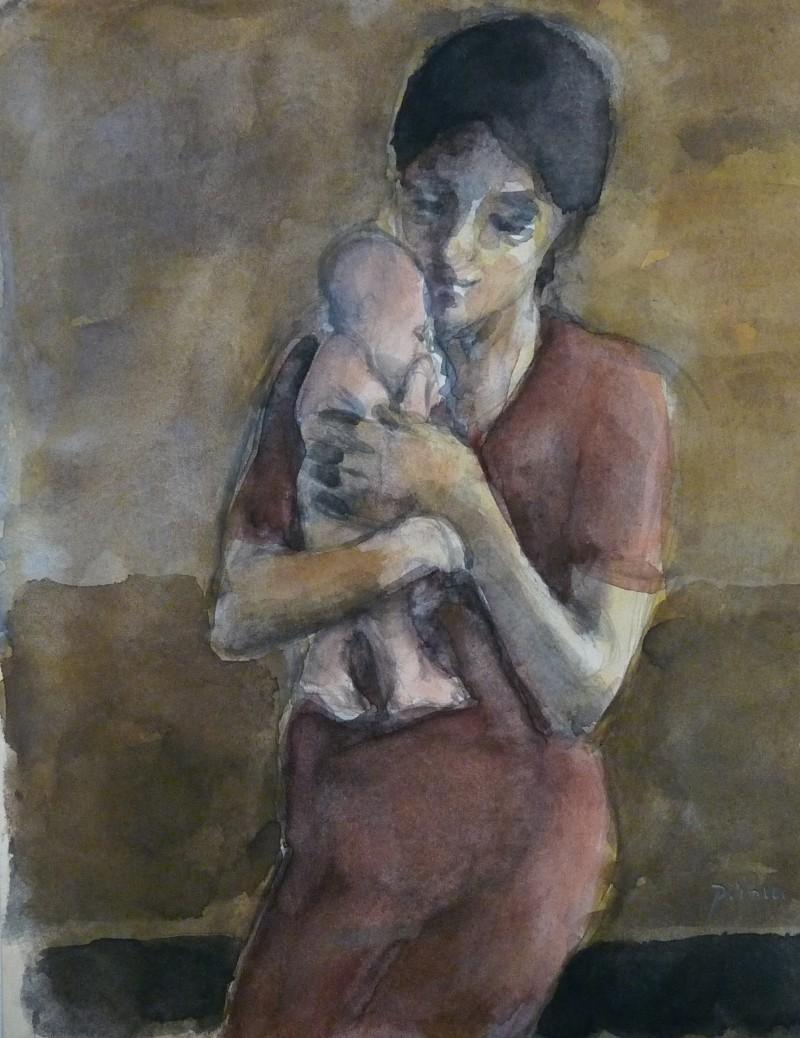 MP 84-266 -Mutter mit Baby - Maria -22x17,5